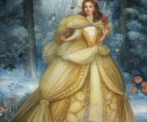 art., winter., and rose. image