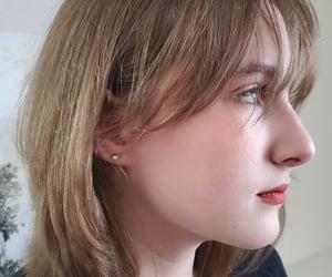 bangs, hair, and shorthair image