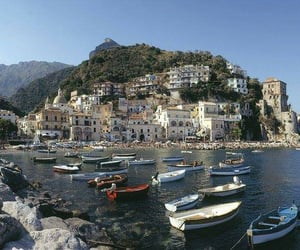 Amalfi coast, europe, and italy image