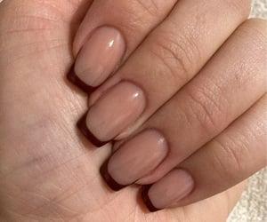fashion, long nails, and makeup image