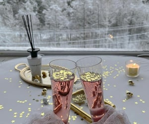 aesthetic, celebration, and champagne image