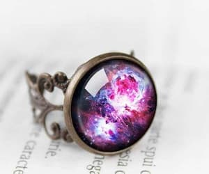 cosmic, purple, and ring image