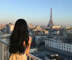 girl, paris, and ulzzang image