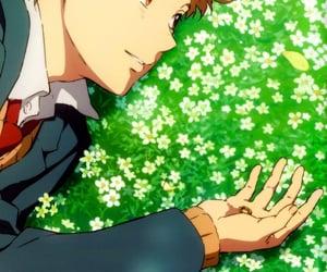 anime, boy, and wallpaper image