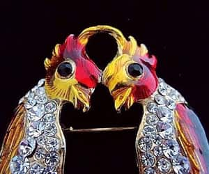 etsy, gold plated, and figural brooch image