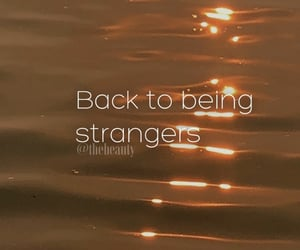 breakup, drama, and strangers image