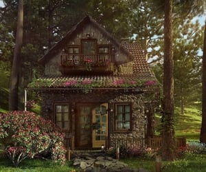 cottage, aesthetic, and house image