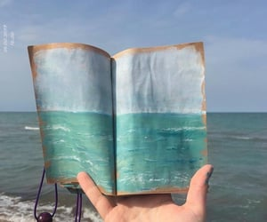 art, book, and infinity image
