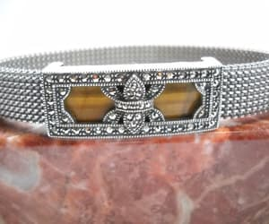 etsy, boho bracelet, and stretch mesh image