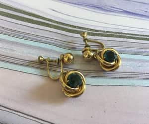 etsy, screw back, and vintage earrings image
