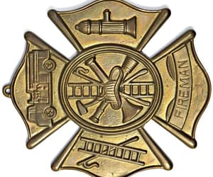 fraternal jewelry, etsy, and firefighter gift image