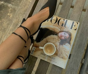 aesthetics, black shoes, and fashion blogger image