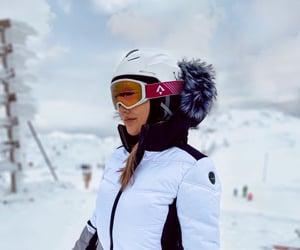 mountain, ski, and sport image