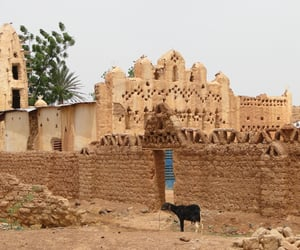 africa, mosque, and travel image