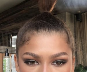 beauty, brown, and celebrities image
