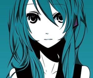 anime, anime girl, and hatsune miku image