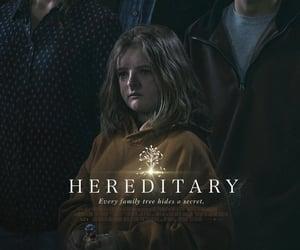 movie, scary movie, and hereditary image