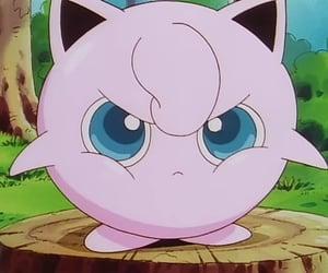 anime, jigglypuff, and pokemon image