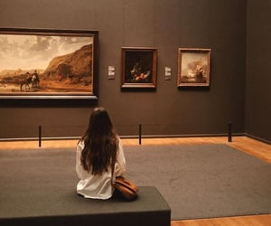 art, museum, and beautiful image