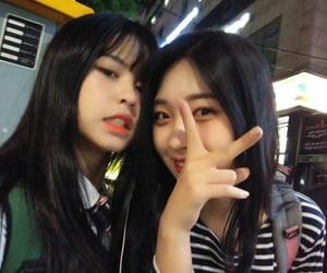 everglow, jiwon, and park jiwon image