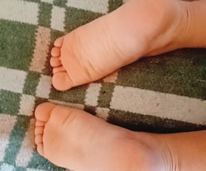 toes, baby, and feet image