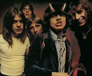 ACDC, highway, and band image