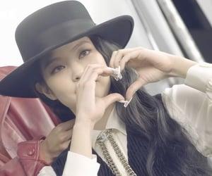 heart, kpop, and jennie image