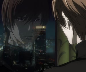 death note, icon, and light image