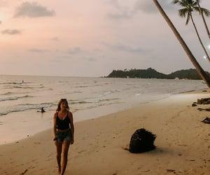 beach, summer, and bucketlist image