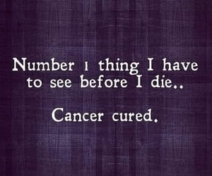 cure, cancer, and number image
