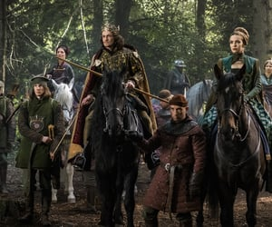 michelle fairley, jacob collins levy, and jodie comer image