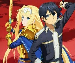 kirito, anime, and anime boy image