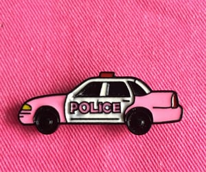 car, girls, and pin image