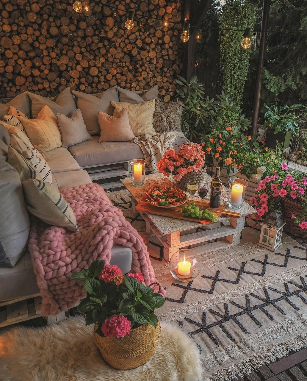 flowers, vine, and home sweet home image