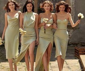 besties, bridesmaids, and dress image