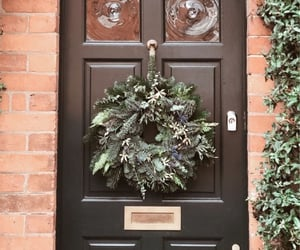 christmas and door image
