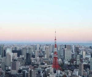 city, Dream, and tokyo tower image