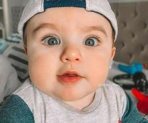 babies, beautiful boy, and eyes image