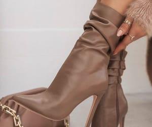 beige, heels, and accessories image