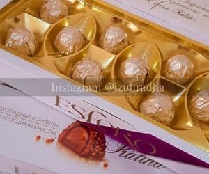 chocolate, couple, and food image