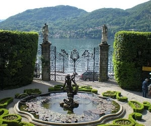 italy, lago como, and como lake image