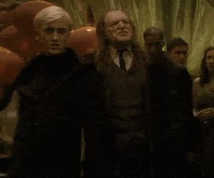 draco malfoy, gif, and party image