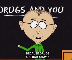 drugs, South park, and mkay image