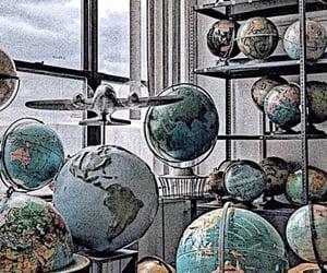 blue, globes, and sharp image