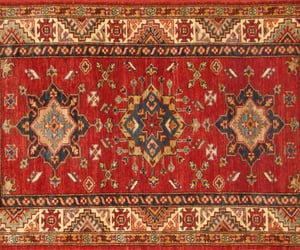 home decor, hand knotted rugs, and kazak rugs image