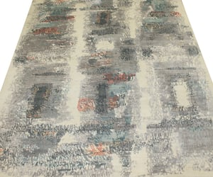 home decor, modern area rug, and abstract collection image