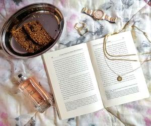 books, coffee, and ice image