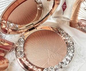aesthetic, diamond, and eyeshadow image