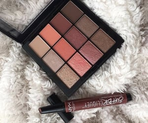 makeup, beauty, and eye makeup image