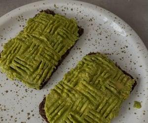 avocado, bread, and breakfast image